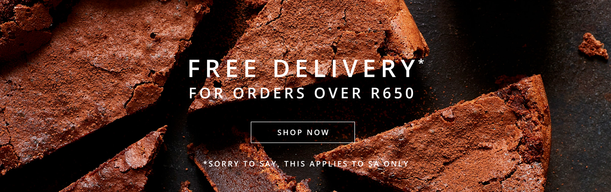 Free delivery over R650