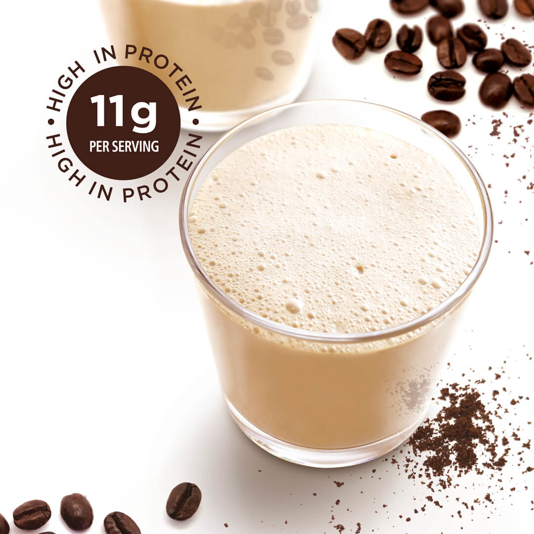 Coffee—High-in-Protein