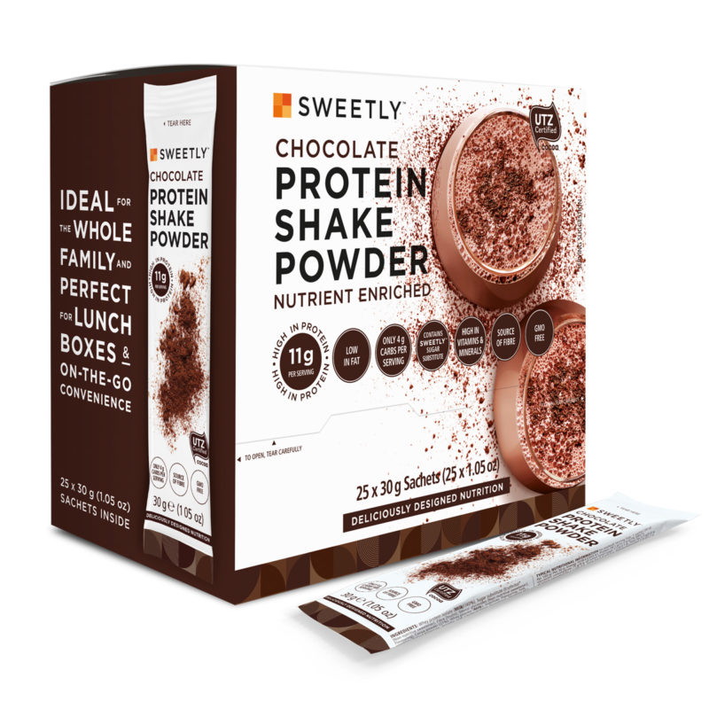 SWEETLY Chocolate Protein Shake