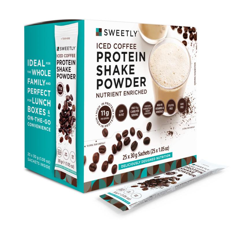 SWEETLY Iced Coffee Protein Shake