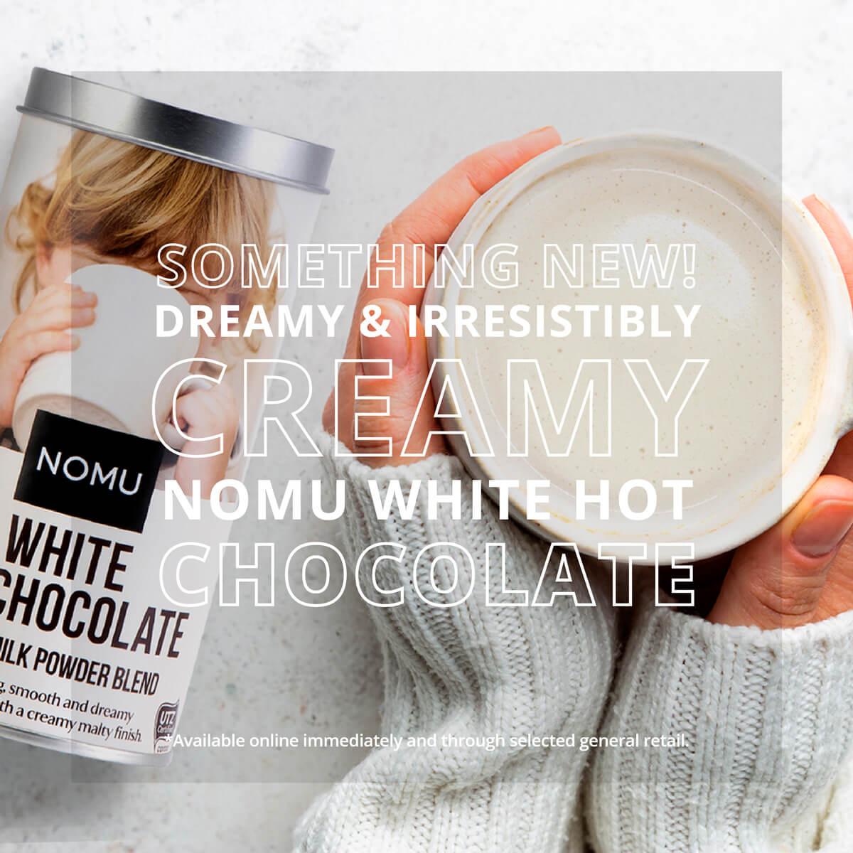 NOMU White Hot Chocolate