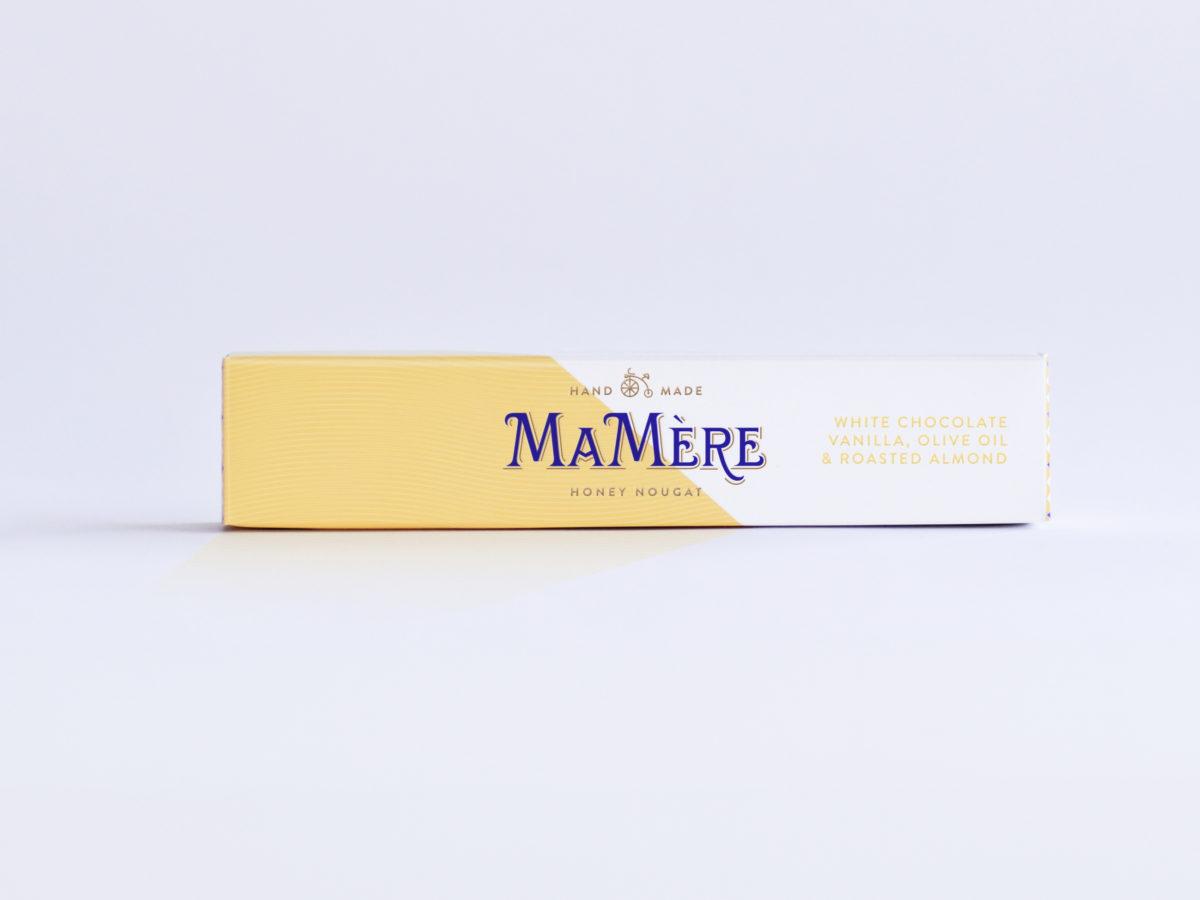 MaMereConfections_Olive oil & vanilla nougat_100g