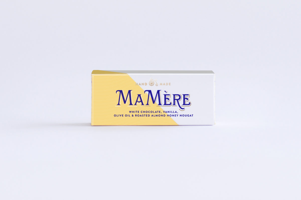 MaMereConfections_White Choc Nougat_100g